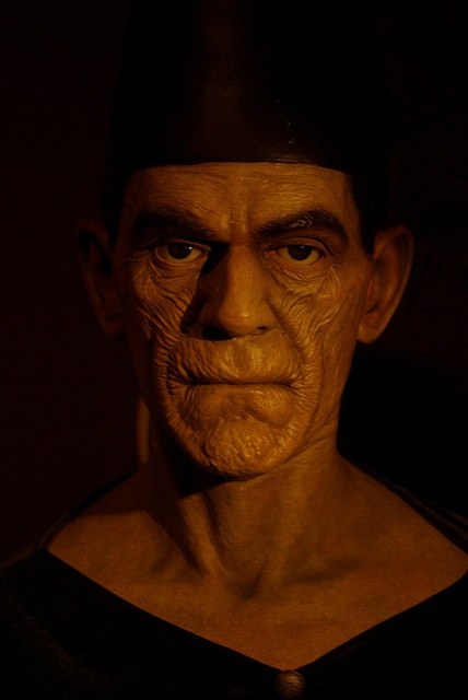 "Boris Karloff as Imhotep in ""The Mummy"""