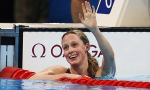 Hungary's Katinka Hosszu wins Gold & smashes 400m IM World Record as GB'S Hannah Miley finishes fourth  the Rio Olympic final