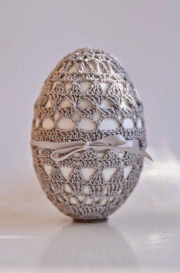 Horgolás minden mennyiségben!!!: Horgolt tojás leírása