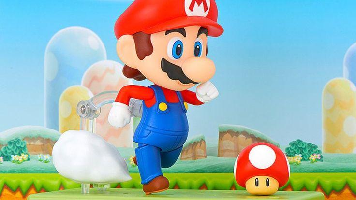 B.A.Tech: Nendoroid Mario is the cutest Mario yet