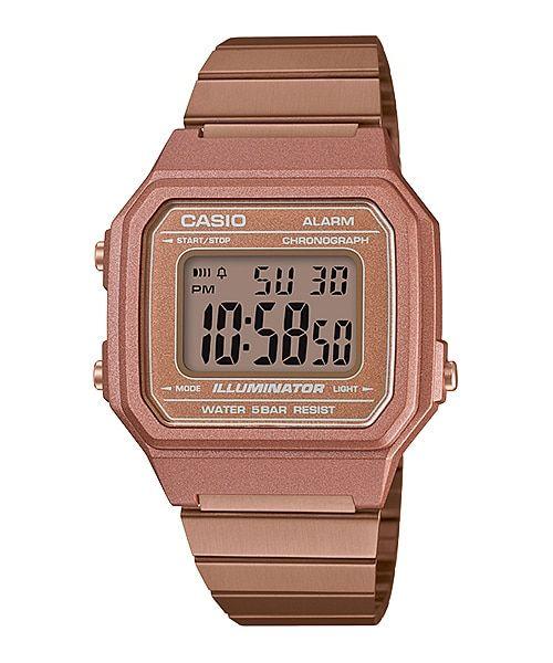 10f5c1cb5 B650WC-5A | Relógios - Casio Vintage em 2019 | Casio vintage, Relógio casio  e Relogio casio rose