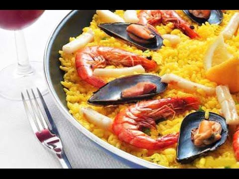 Испанская Паэлья с морепродуктами и курицей - How To Make Paella Recipe