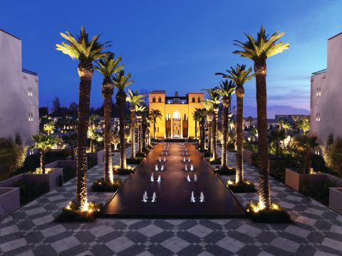 Four Seasons, Marrakech Exterior Lighting By Lighting Design International.