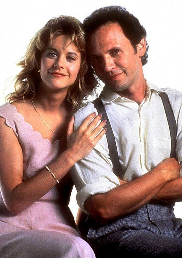 """Meg Ryan y Billy Crystal en """"Cuando Harry encontró a Sally"""", 1989"""