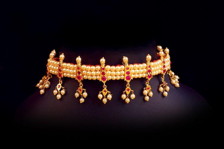 Chinchpeti maharastrian jewel