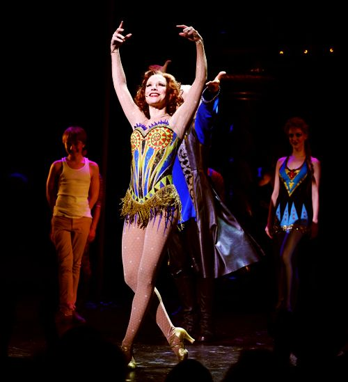Pippin Revival - Charlotte d'Amboise - I was in the front row and she came and said hello while on stage!!!