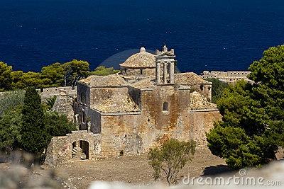 Gothic church in Pylos, Peloponnese