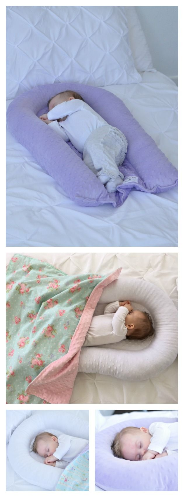 Baby Sleep Pillow Cosleep Baby Nest Baby Lounger