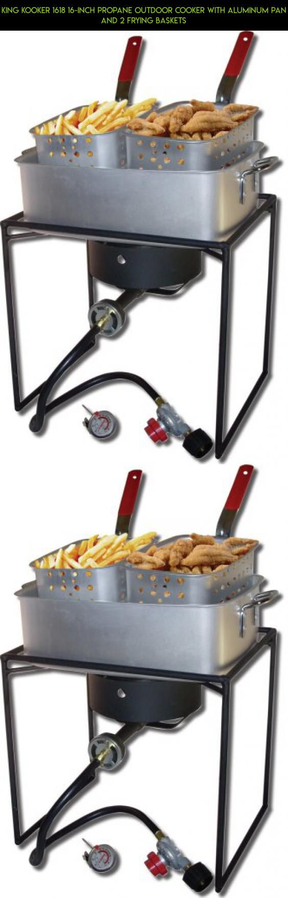 King Kooker 1618 16-Inch Propane Outdoor Cooker with Aluminum Pan and 2 Frying Baskets #outdoor #plans #tech #equipment #fpv #technology #cooking #drone #parts #kit #products #shopping #camera #gadgets #racing