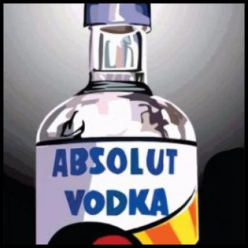 Absolute Vodka Frame