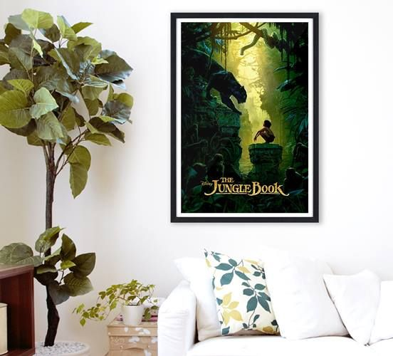 """Probier's mal mit ... Urwaldfeeling! Seit Donnerstag sind Mogli, Baghira und Balu wieder auf der großen Leinwand zu sehen. Gefällt euch die Neuverfilmung von """"The Jungle Book"""" oder bleibt ihr Disneys Zeichentrick-Klassiker treu? #dschungelbuch #thejunglebook #disney #poster  Das Poster zum aktuellen Film gibt's hier: ► http://plgo.de/KlaPD"""