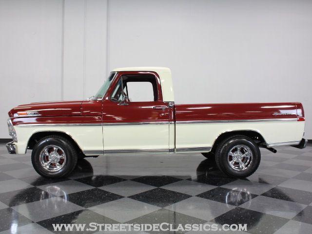 My Grandma Had A Truck Just Like This And My Aunt Was Still Driving It Up Until Just A Few Years Ago Sweet Classic Trucks Ford Pickup Trucks Pickup Trucks