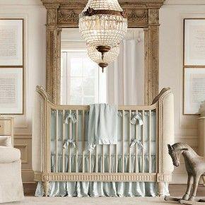 21 Chic Baby Nursery Room Design Ideas : Baby Nursery Room Design Ideas – Cream and aqua blue boys nursery room