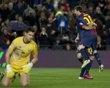 Messi, FC Barcelona. | FC Barcelona 5-1 Osasuna | GRA278. BARCELONA, 27/01/2013.- El delantero argentino del FC Barcelona Lionel Andrés Messi (d) celebra con su compañero, el brasileño Adriano Correia uno de los goles que ha marcado ante el Osasuna.