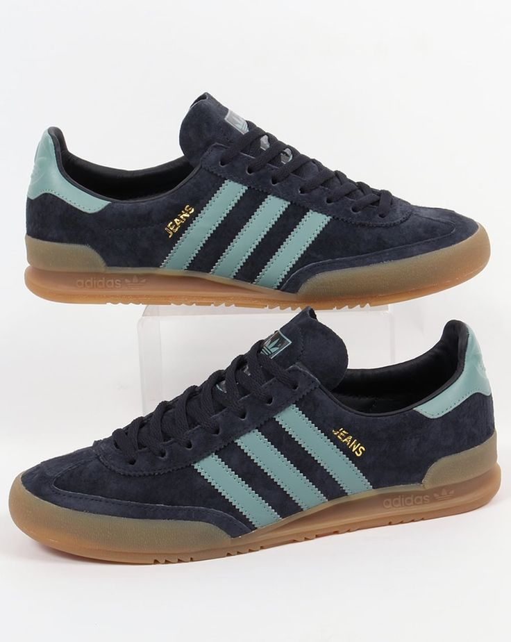 Adidas Jeans Trainers Navy Blue Sky,Suede,Originals, Sizes 6- 12, 13