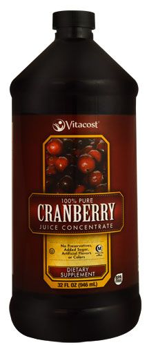 Vitacost 100% Pure Cranberry Juice Concentrate