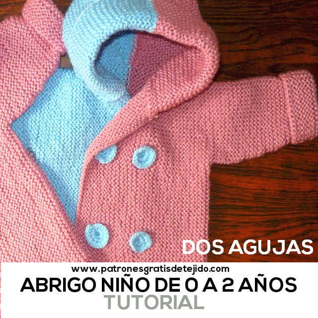 8 best Bebé 3-24 meses - Punto images on Pinterest | Tejidos para ...