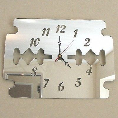 Razor Blade Clock – BongoJazz £24.99