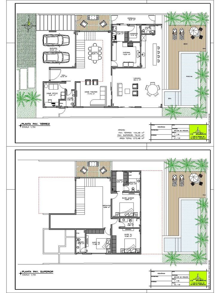 Plantas de casas para terrenos em declive plantas casa for Plantas para poner cerca de la piscina