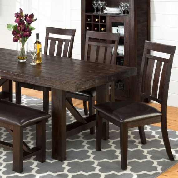 The 25 best Dark wood dining table ideas on Pinterest Dark