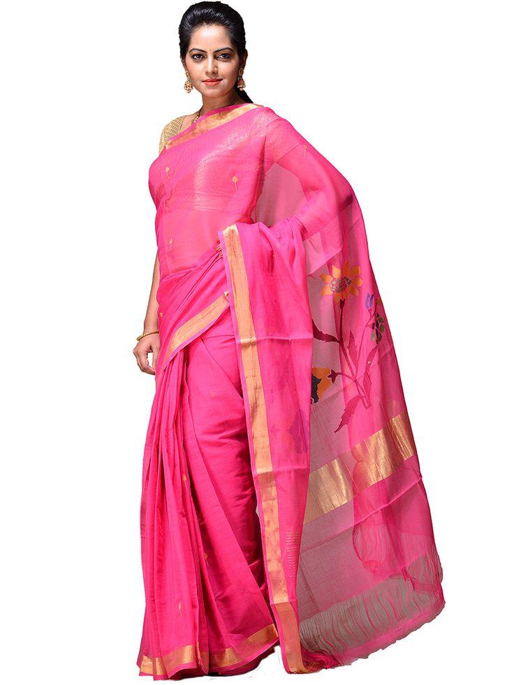 Handloom cotton Khadi Saree...kh0191a