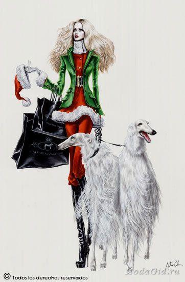 Знаменитости: Модный иллюстратор Артуро Елена (Arturo Elena)