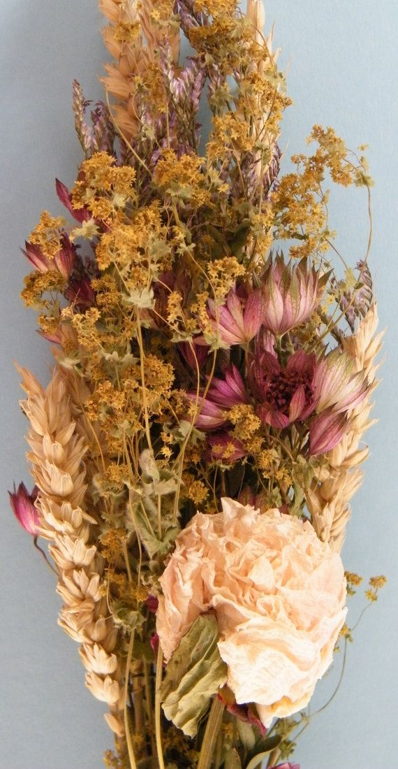 32 best Hand-tied dried flower bouquets images on Pinterest | Floral ...