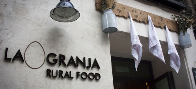 The Farm Cottage Restaurant Food in Madrid