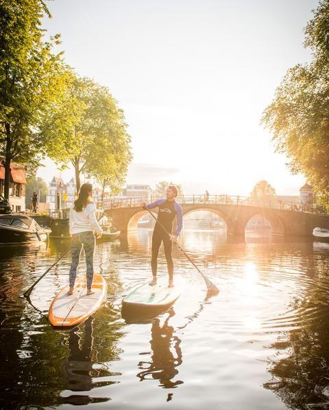 Stand up Paddling: Die schönsten Stadttouren auf Seen, Flüssen und Kanälen - [GEO]