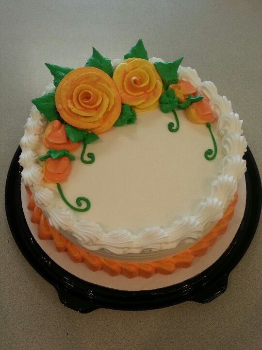 A great addition to your fall party menu is a DAIRY QUEEN Cake complete with warm fall coloures and delicate leafy details. Order it at www.DQCakes.com
