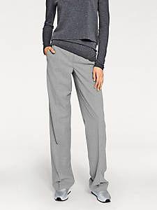 Rick Cardona - Pantalon habillé femme, coupe bootcut à poches