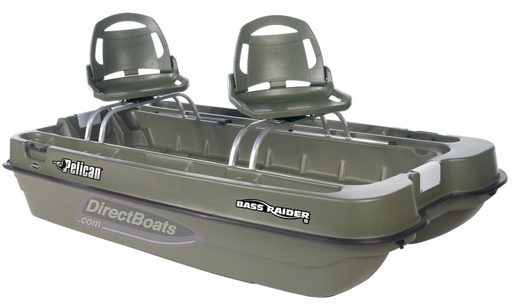 Check out the Bass Raider 8 Mini Bass Boat! The Bass Raider's tri-keeled hull ensures excellent tracking and minimizes sideslipping, while its beam gives stability and maximum carrying capacity. For more information or to order, visit this items official page on DirectBoats.com. http://directboats.com/bassraider8.html