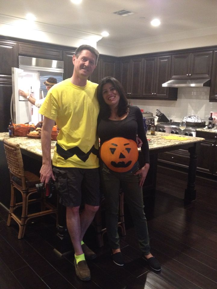 couples halloween costume with a pregnant wife - Pregnancy Halloween Costume Ideas For Couples