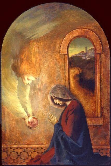Annunciation-J.Kirk Richards