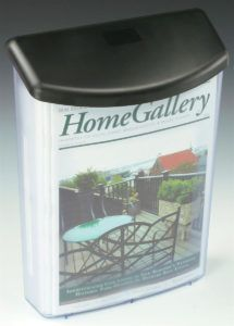 Outdoor Brochure Holders Wall Mount