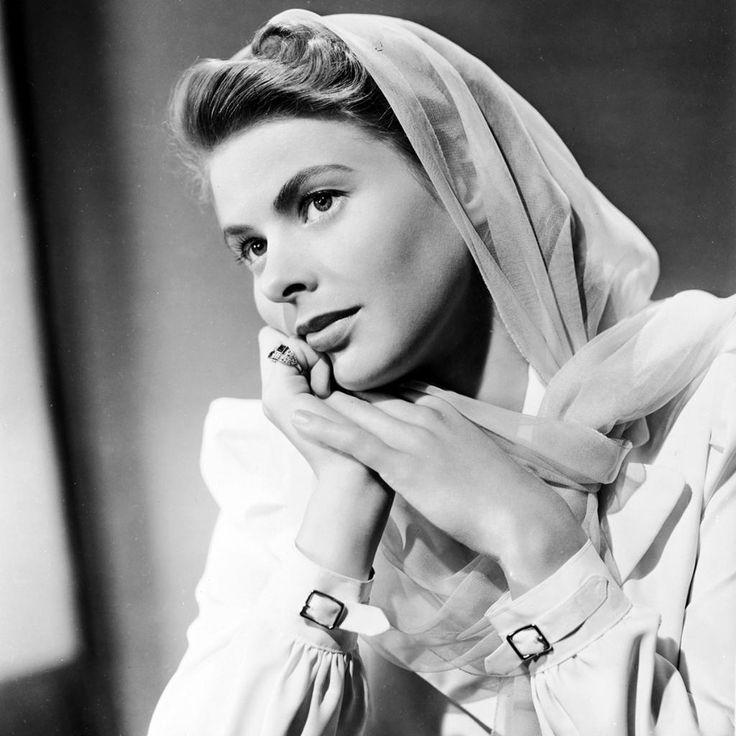 """Weihnachtsdeko Aus Holz Ingrid Moras ~ Über 1 000 Ideen zu """"Ingrid Bergman auf Pinterest  Cary Grant"""