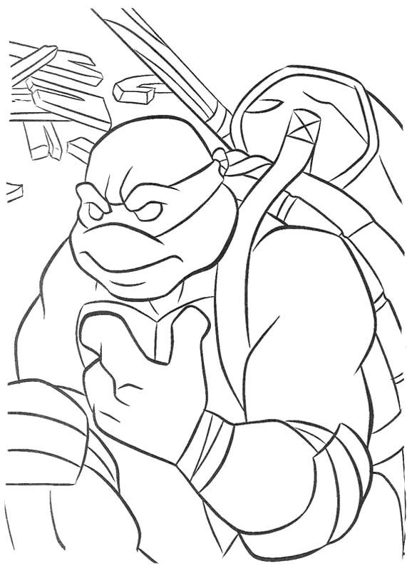 68 best tmnt coloring pages images on pinterest | teenage mutant ... - Ninja Turtle Pizza Coloring Pages