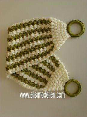 Yeşil Beyaz Lif | Elişi Modelleri