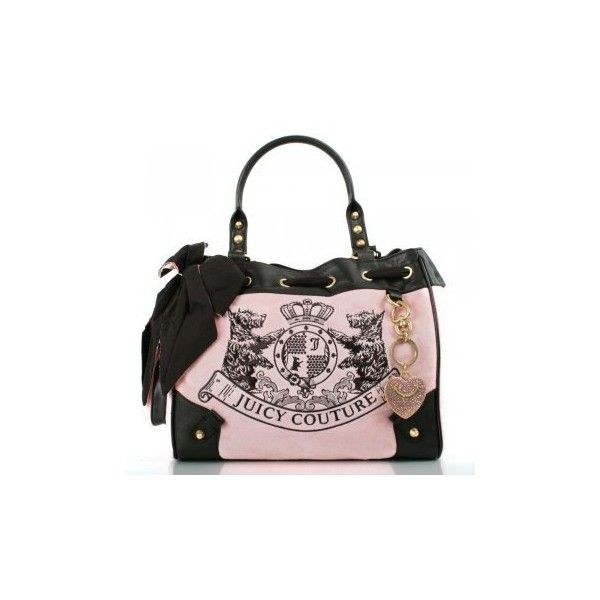 Juicy Couture Pink New Scottie Embroidery Women's Daydreamer Bag (£129) ❤ liked on Polyvore featuring bags, handbags, shoulder bags, man shoulder bag, shoulder bag purse, juicy couture handbags, handbags shoulder bags and juicy couture purses