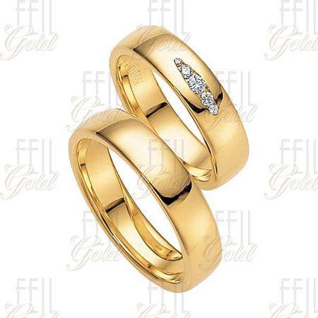 Sárga arany karikagyűrű WSAu-149