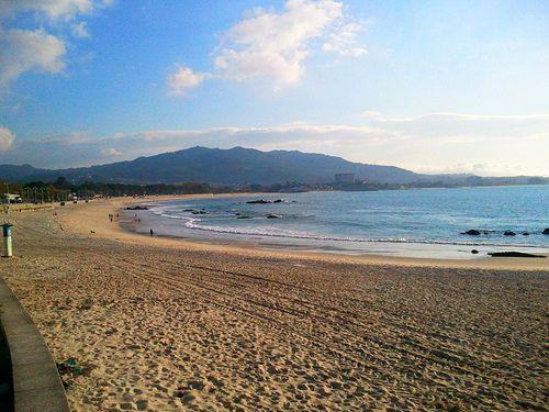 Playa de Samil in Vigo, Spain: http://www.europealacarte.co.uk/blog/2013/02/07/things-to-do-vigo/