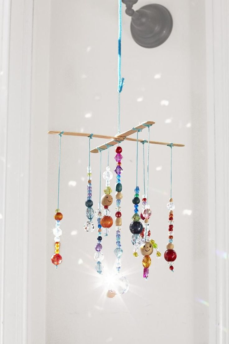 Hang this mobile in a light-filled window to really let it glimmer and glow.