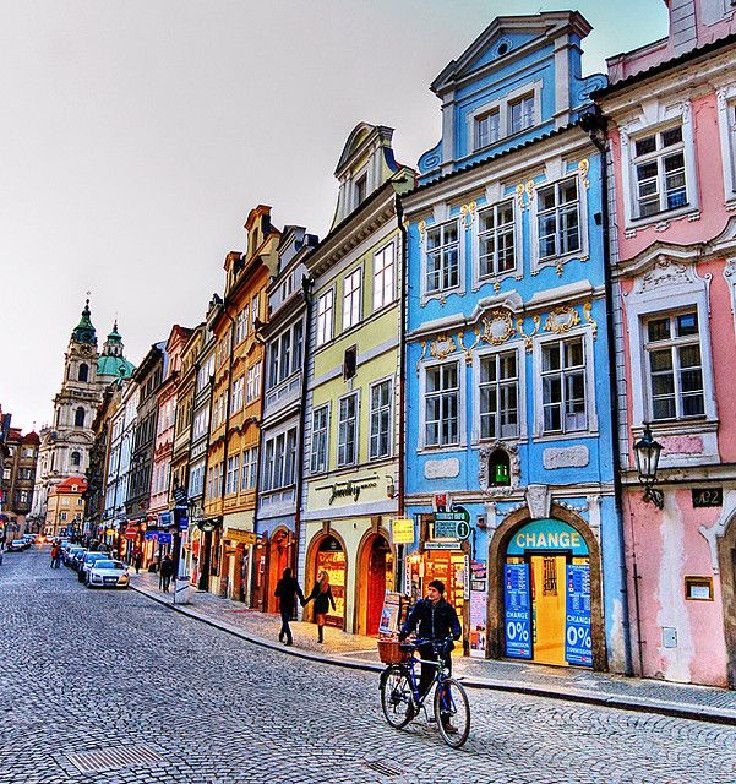 Mala Strana, Prague, Czech Republic - Ah, beautiful Prague, this period of the year is cold, i mean really cold, but Prague has a different spirt for every time of the year. Visit it!!