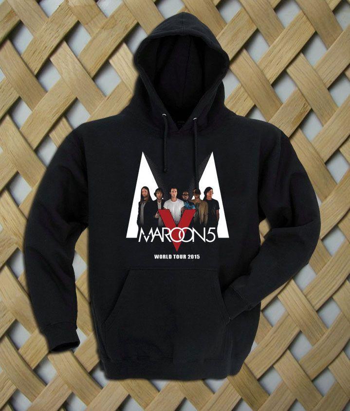 Maroon 5 World Tour 2015 Hoodie