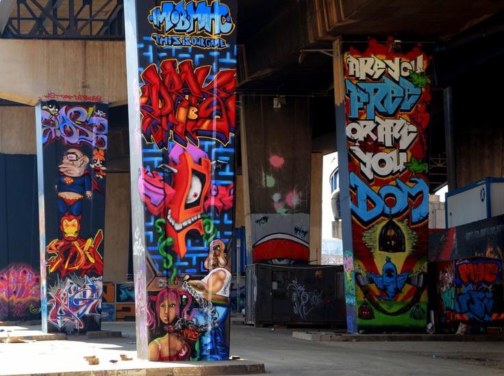Graffiti Gallery - Newtown, Johannesburg South Africa.