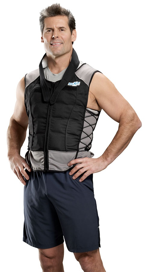 Male - Weight Loss Cooling Vest - maintains 58°F temperature that activates brown adipose tissue for increase calorie burn #WeightLoss #BrownFat