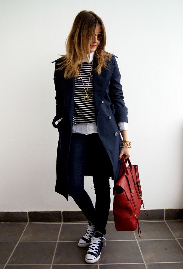 1000+ Ideas About Navy Trench Coat On Pinterest | Trench Coats Black And Navy And Coats