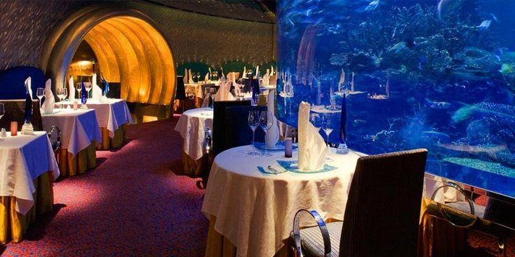 Restaurantul Al Mahara, Hotel Burk Al Arab