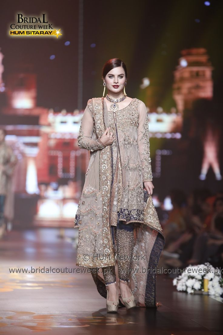 NICKIE NINA BCW 2016 KHI | Bridal Couture Week | BCW2016 |