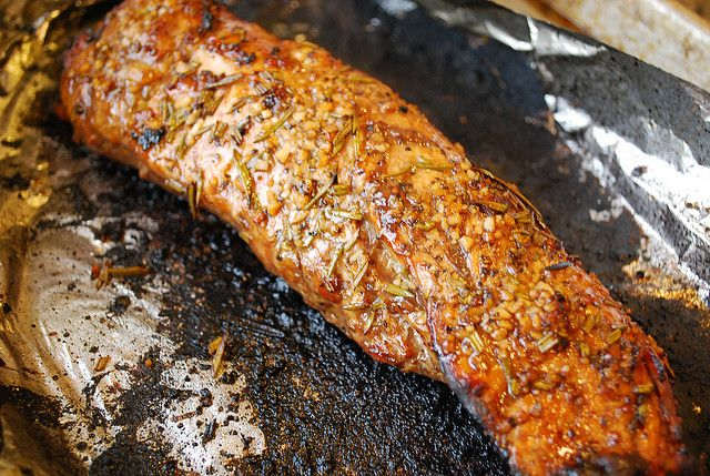 Pork Roast Recipe With Rosemary, Garlic, And Balsamic Vinegar Recipe ...